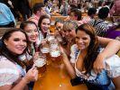 Zeitgleich mit der Münchner Wiesn finden zahlreiche Oktoberfeste in ganz Deutschland statt. (Foto)