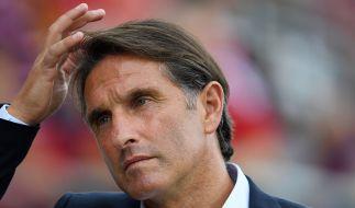 Der Trainerstuhl von Bruno Labbadia beim Hamburger SV scheint zu wackeln. (Foto)