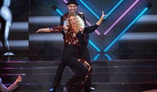 """Menderes Bagci und Aneta Sablik während eines Auftritts bei """"Dance Dance Dance"""". (Foto)"""