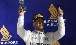 In der Formel 1 ist Lewis Hamilton erfolgreich, doch eine MotoGP-Karriere wie Michael Schumacher könnte er sich nicht vorstellen. (Foto)