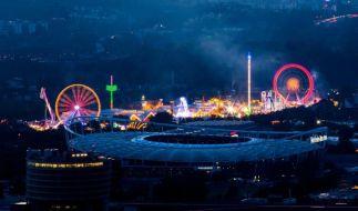 Ab Freitag werden die Cannstatter Wasen in Stuttgart wieder hell erleuchten. Das Volksfest lockt jedes Jahr Tausende Besucher an. (Foto)