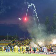 Fußball-Krawallmacher haften für Verbandsstrafen (Foto)