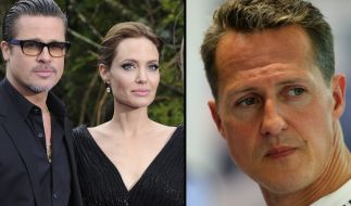 """Brangelina lassen sich scheiden. Michael Schumacher kann nicht, wie von der """"Bunten"""" behauptet, laufen. (Foto)"""