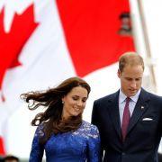 So stressig ist die Kanada-Reise von Herzogin Kate (Foto)