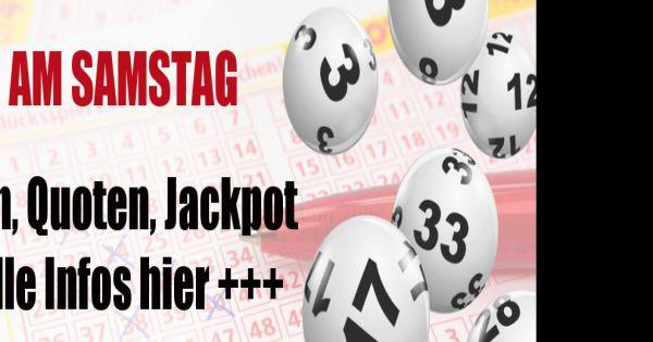 GlГјckГџpirale Lotto Am Samstag
