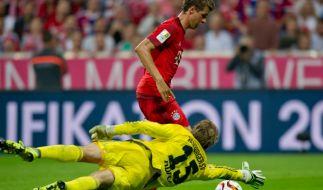 Tabellenführer FC Bayern München gegen den Hamburger SV am 5. Bundesliga-Spieltag, 24. September 2016. (Foto)