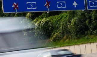 Autobahn 3 kam es zu einem folgenschweren Unfall. (Foto)
