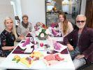 """Die Kandidaten bei """"Promi Shopping Queen"""" am 25. September 2016: Anna Heesch, Tanja Schumann, Joelina Drews und Nino de Angelo (von links). (Foto)"""