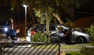 Unbekannte haben am 25. September im Süden der schwedischen Stadt Malmö das Feuer auf einen Kleinwagen eröffnet. (Foto)