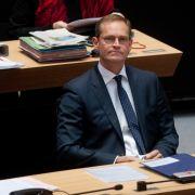 Berliner Bürgermeister empfiehlt rot-rot-grüne Verhandlungen (Foto)