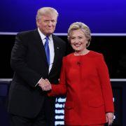 Punktsieg für Clinton! So schlug sie Donald Trump K.O. (Foto)