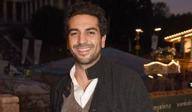 Auch Schauspieler Eylas M'Barek ließ sich einen Besuch auf dem Oktoberfest nicht nehmen - schließlich ist der
