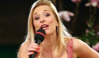 Wird künftig gemeinsam mit den Geschwistern Hofmann den Fans einheizen: Stefanie Hertel. (Foto)