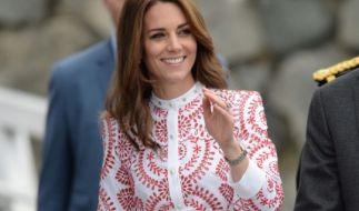 Herzogin Kate durfte in Kanada eine besondere Delikatesse kosten. (Foto)
