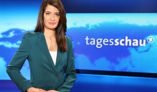 Seit 2013 ist Linda Zervakis Sprecherin der ARD-Tagesschau-Hauptausgabe. (Foto)
