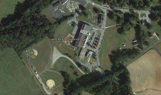 Die Grundschule von Townville in der Ansicht bei Google-Earth: Dort hat ein 14-Jähriger zwei Kinder und eine Lehrerin angeschossen. (Foto)