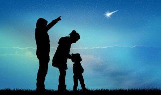 Die Sternschnuppen der Orioniden flitzen im Oktober über den Himmel. (Foto)