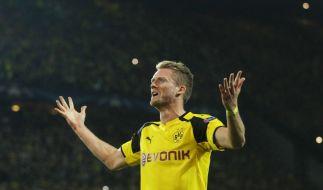Andre Schürrle von Dortmund bejubelt sein Tor zum 2:2 beim Champions League-Spiel gegen Real Madrid. (Foto)