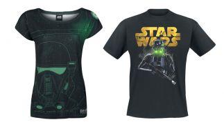 Gewinnen Sie zum Start der Force Week bei EMP eines der beiden T-Shirts im coole Star Wars-Design. (Foto)