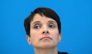 Vergleicht die aktuelle Situation in Deutschland mit der DDR: AfD-Chefin Frauke Petry. (Foto)