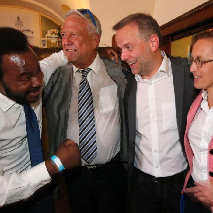"""Schwarzafrikanerwill kein AfD-""""Quotenneger"""" sein (Foto)"""
