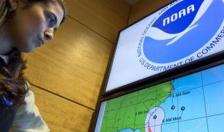 Das National Hurricane Center sagt die Ankunft des Hurrikan Matthew in Florida für Freitag voraus. (Foto)