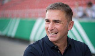 U21-Trainer Stefan Kuntz kann mit seinem Team am Freitag einen Rekord erreichen. (Foto)