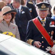 Offizielles Programm: Königin Silvia und König Carl Gustaf zu Besuch in Sachsen (Foto)