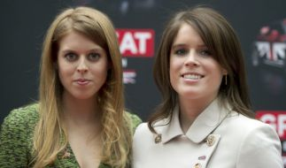 Prinzessin Eugenie (r.) heiratet bald ihren Freund James Brooksbank. (Foto)
