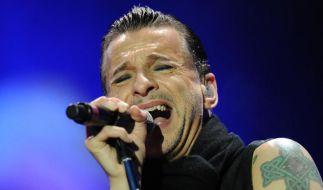 Dave Gahan und seine Mitstreiter von Depeche Mode gehen 2017 auf große Welttournee. (Foto)
