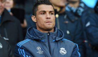 Bevor Ronaldo zu Real Madrid wechselte, spielte er sechs Jahre Jahre lang für Manchester United. (Foto)