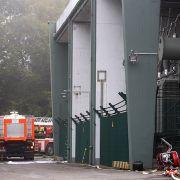Großbrand in Hagen! 50.000 Haushalte ohne Strom (Foto)