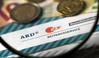 ARD und ZDF streben neue Bemessung der Rundfunkgebühren an. (Foto)
