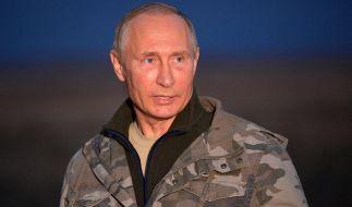 Wladimir Putin besucht die Region Orenburg. (Foto)