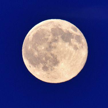 GigantischerSupermond erleuchtete die Nacht (Foto)