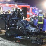 Schwerer Unfall mit Geisterfahrer - drei Menschen sterben (Foto)