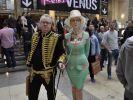Auch so mancher Besucher kleidet sich extravagant. (Foto)