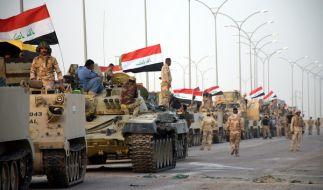 Bereits seit längerem wird der Sturm auf die IS-Hochburg Mossul erwartet. (Foto)