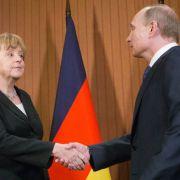 Merkel empfängt Putin am Mittwoch in Berlin (Foto)