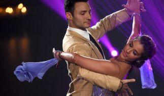 "Robert Beitsch mit Sarah Lombardi bei ""Let's Dance"". (Foto)"