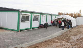 Ein deutsches Ehepaar muss in einem Flüchtlingscontainer wohnen. (Symbolbild) (Foto)