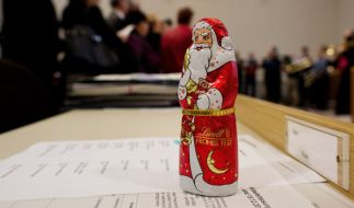 Kurz vor Weihnachten sollen neue Testergebnisse erneut Mineralöle in der beliebten Lindt-Schokolade belegen. (Foto)
