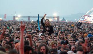 """Für die Festivals """"Rock am Ring"""" und """"Rock im Park"""" 2017 stehen bereits jetzt mehr als 20 Bands fest. Zudem wurden die ersten Headliner angekündigt. (Foto)"""