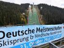 Ski nordisch und Skispringen DM 2016, Wertung und Ergebnisse