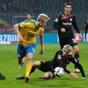 Braunschweig baut Führung aus - Union Berlin klettert auf Rang 2 (Foto)