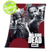 Einmal kuscheln mit Daryl Dixon und Rick Grimes bitte! Okay, die echten Serienhelden zeigen sich hier nicht anschmiegsam, dafür wird die flauschige Fleecedecke vom Konterfei der beiden Zombiejäger geziert (gesehen bei Amazon.de, 19,99 Euro).