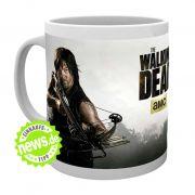 Wenn die Zombie-Apokalypse naht, heißt es: Nerven bewahren und Tee trinken. Am besten aus dieser coolen Fan-Tasse mit Daryl-Dixon-Motiv (von Empire Interactive, 11,74 Euro).