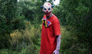 Zu Halloween am 31. Oktober rechnet die Polizei mit einer drastischen Zunahme von Attacken durch maskierte Clowns in Deutschland. (Foto)