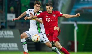 Der FC Bayern München trifft auf Borussia Mönchengladbach (Samstag, 18.30 Uhr). (Foto)
