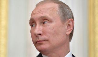 """Wladimir Putin hat mit der Atomwaffe SS-18, auch als """"Satan""""-Bombe bekannt, eine furchterregende Waffe in der Hinterhand. (Foto)"""